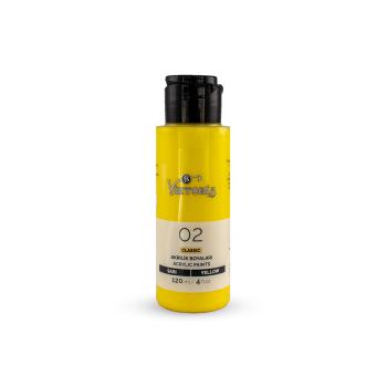 02 Viktoria Classic Acrylic Paint Yellow
