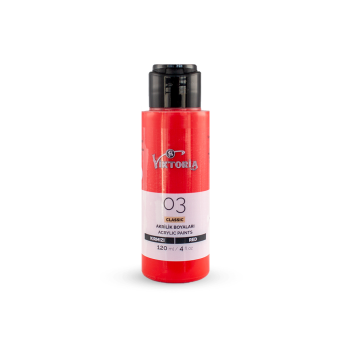 03 Viktoria Classic Acrylic Paint Red