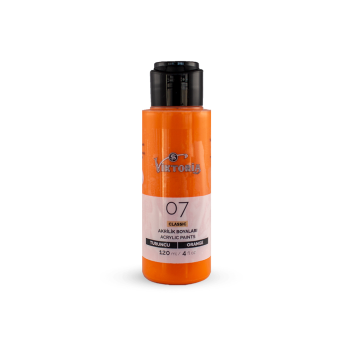 07 Viktoria Classic Acrylic Paint Orange