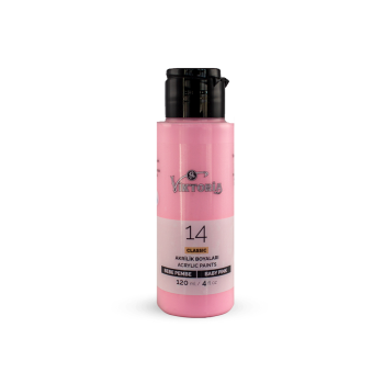 14 Viktoria Classic Acrylic Paint Baby Pink