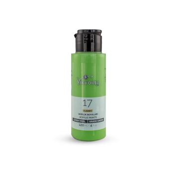 17 Viktoria Classic Acrylic Paint Grass Green