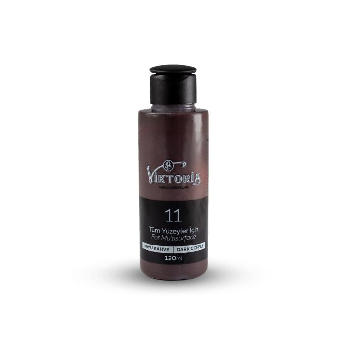 Viktoria Multisurface Acrylic Paint Dark Brown