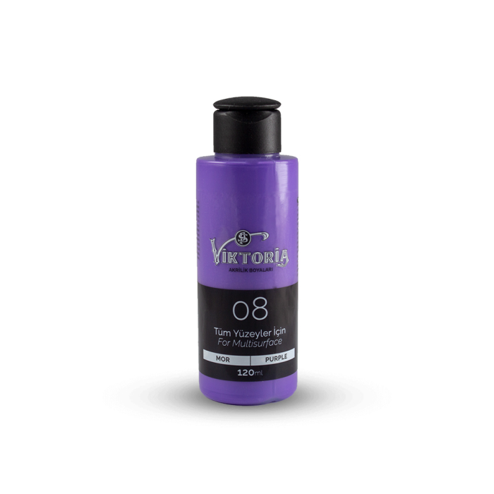 Viktoria Multisurface Acrylic Paint Purple