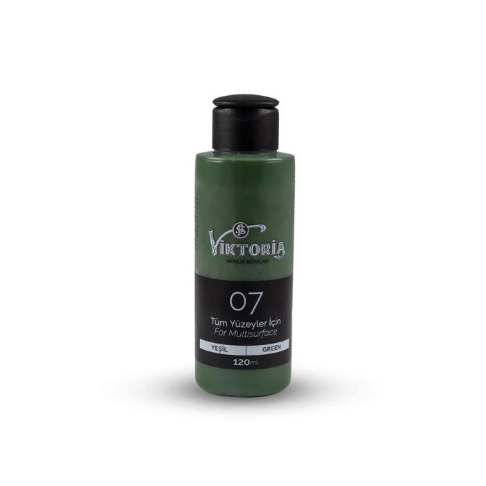 Viktoria Multisurface Acrylic Paint Green